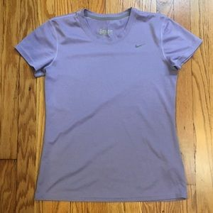 Purple Nike Dri Fit Tee
